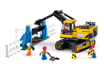 Bild på Gravemaskine, Sluban Excavator M38-B0551