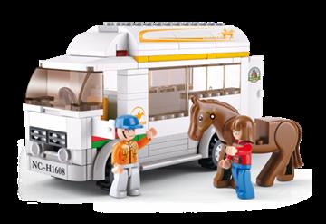 Billede af Hestetransporter, Sluban Horse Truck M38-B0559