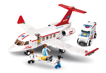 Ambulancefly, Sluban Medical Air Ambulance M38-B0370