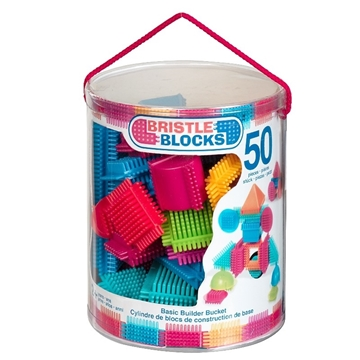 Bristle Blocks i spand 50 stk