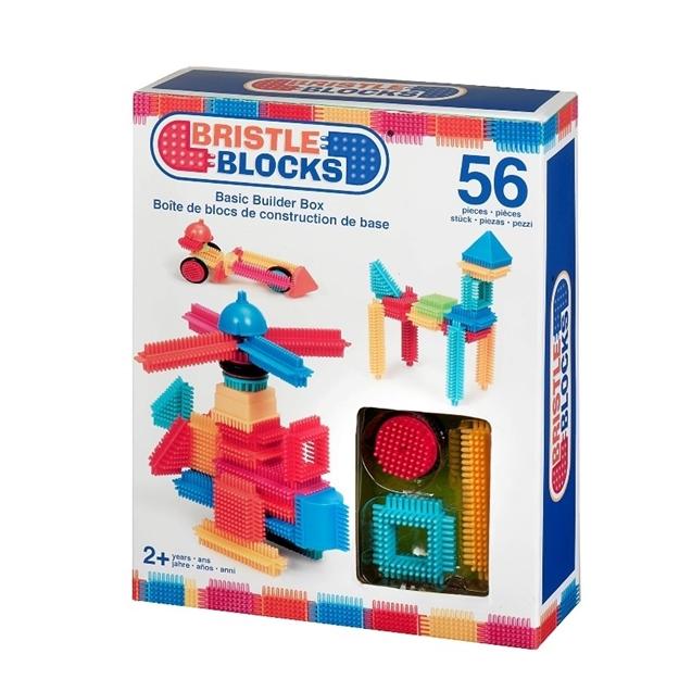 Bristle Blocks i æske 56 stk