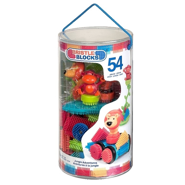 Bristle Blocks junglepakke 54 stk