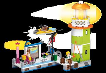 Fyrtårn med havn, Sluban Lighthouse M38-B0607