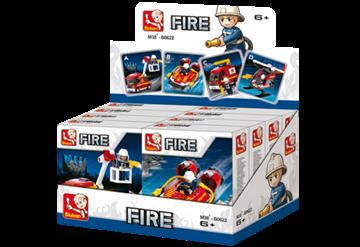 Sluban Fire Fighter Display 8 Pieces M38-B0622