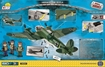 Cobi Small Army WW2 5534 - Heinkel HE111 P4 back