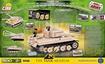 Cobi Small Army WW2 2477 - Tiger 131 Back