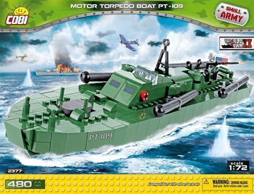 Cobi Small Army WW2 2377 - Motor Torpedo Boot PT-109