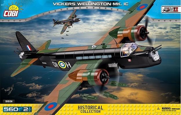 Cobi Small Army WW2 5531 - Vickers Wellington