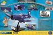 Cobi Small Army WW2 5523- Vought F4U Corsair - back