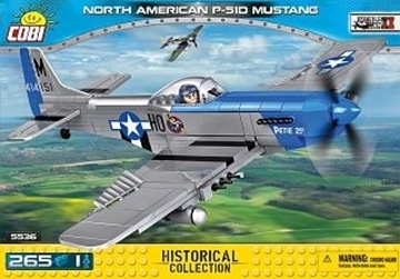 Cobi Small Army WW2 5536- P-51D Mustang