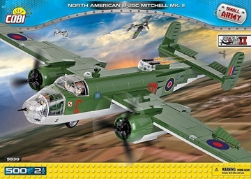 Cobi Small Army WW2 5530 - North American B-25C Mitchell Mk.II