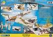 Cobi Small Army WW2 5546 - Spitfire Mission Hangar - bagside