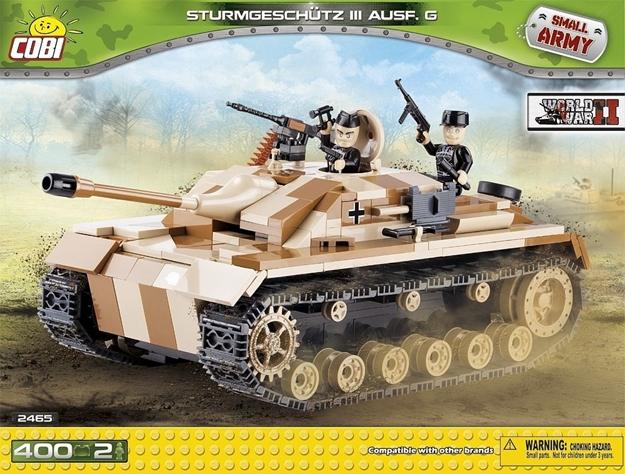 Cobi Small Army WW2 2465 - Sturmgeschütz III Ausf. G