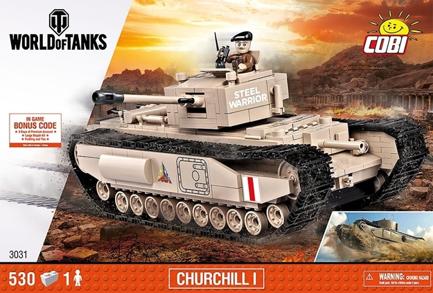 COBI 3031 - World of Tanks - Churchill I