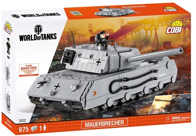 Cobi World of Tanks 3032 Mauerbrecher