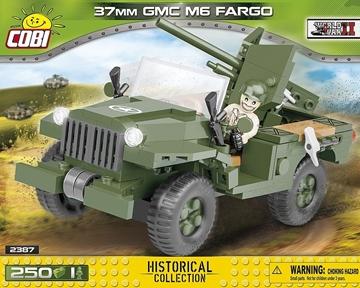Cobi WW2 2387 - Jeep GMC M6 Fargo