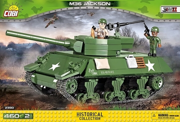 Cobi WW2 2390 - M36 Jackson Tank Destroyer