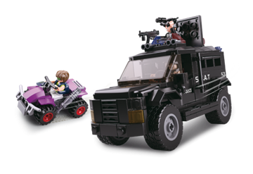 SWAT lastbil, Sluban SWAT Truck