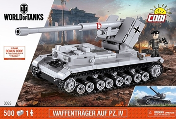 Cobi World of Tanks 3033 Waffentrager Auf PZ.IV