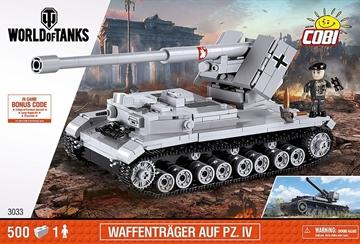 Cobi World of Tanks 3033 Waffentrager Auf PZ.IV